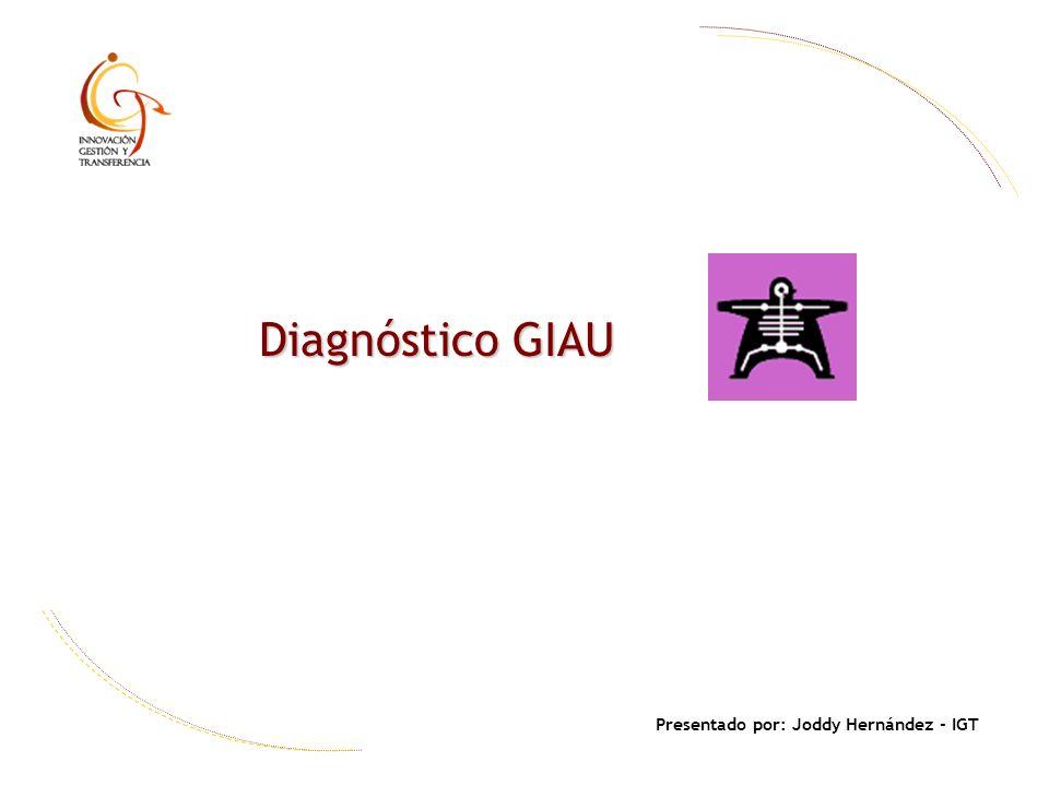 Presentado por: Joddy Hernández - IGT