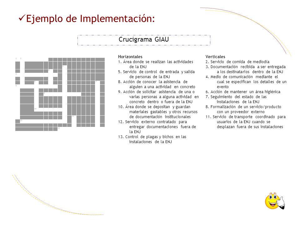 Ejemplo de Implementación: