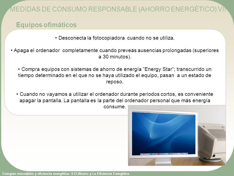 Consumo energetico de una fotocopiadora
