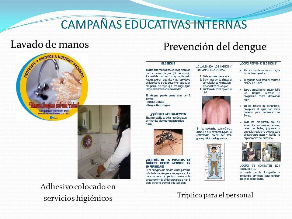 CAMPAÑAS EDUCATIVAS INTERNAS