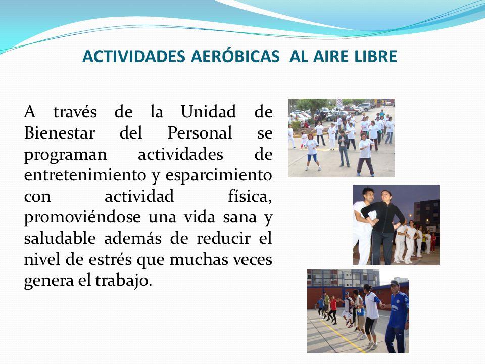 ACTIVIDADES AERÓBICAS AL AIRE LIBRE