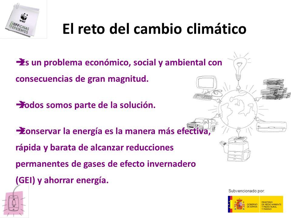 El reto del cambio climático