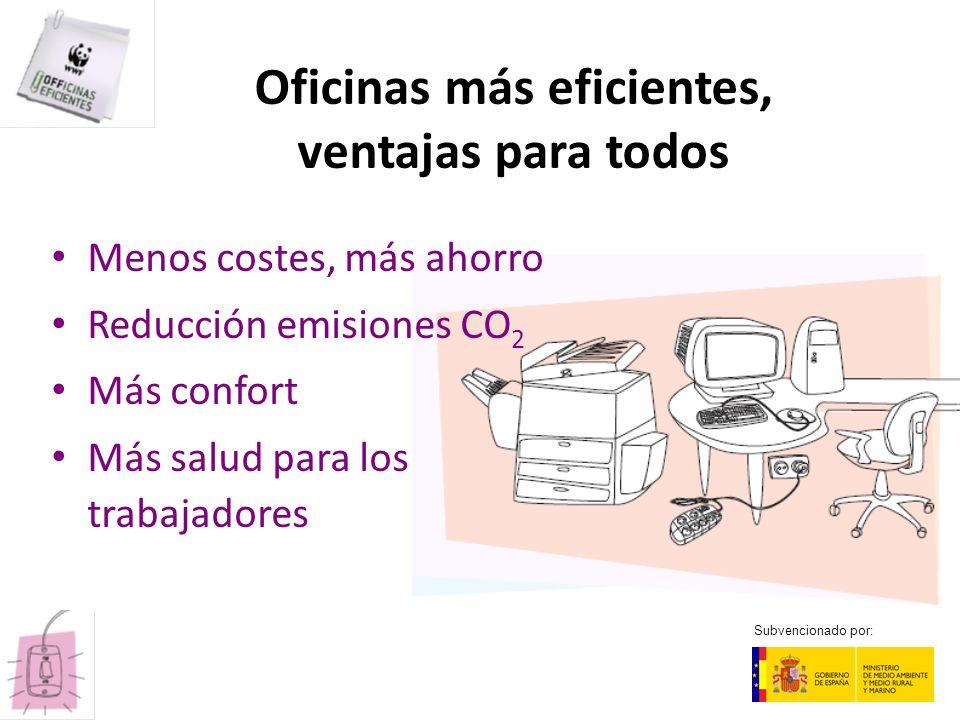 Oficinas más eficientes, ventajas para todos