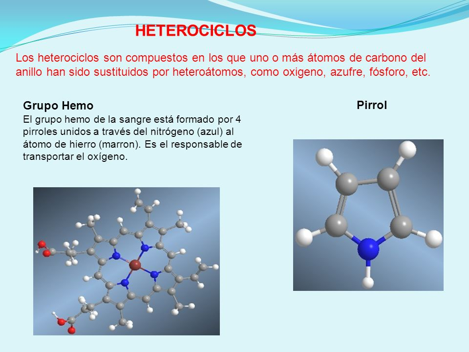 HETEROCICLOS