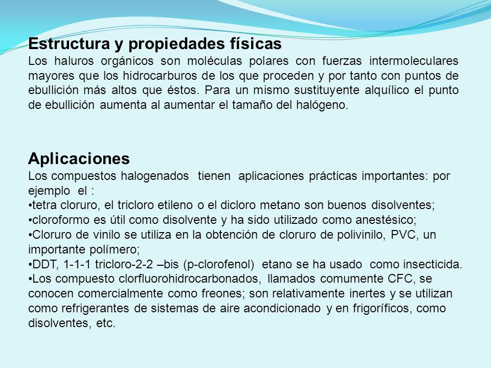 Estructura y propiedades físicas