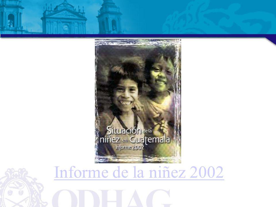 Informe de la niñez 2002