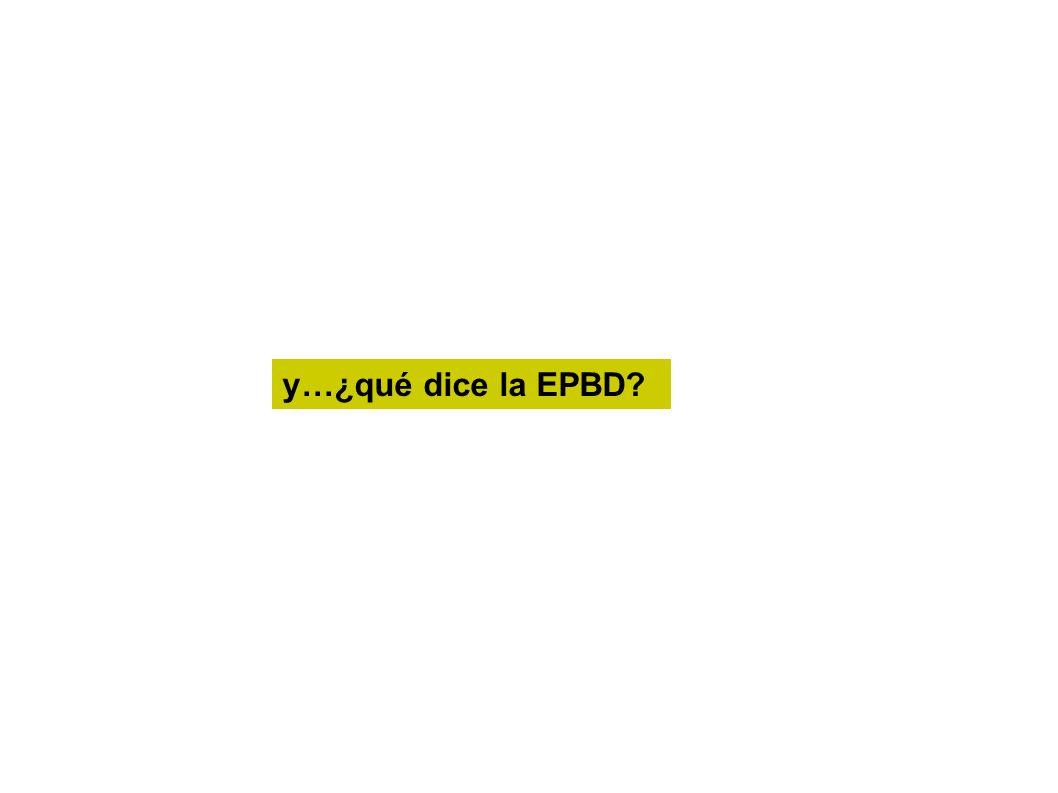 y…¿qué dice la EPBD