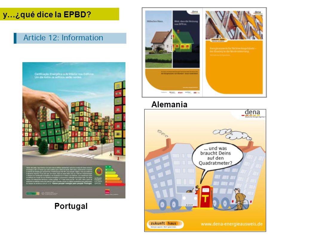 y…¿qué dice la EPBD Alemania Portugal
