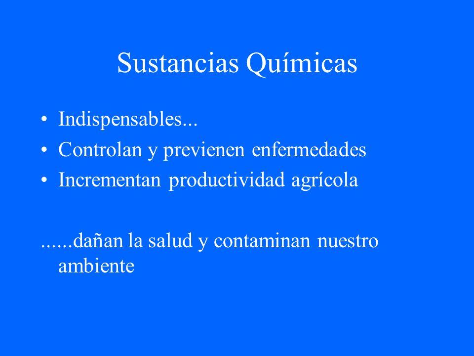 Sustancias Químicas Indispensables...