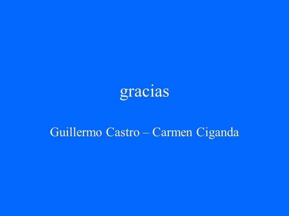 Guillermo Castro – Carmen Ciganda