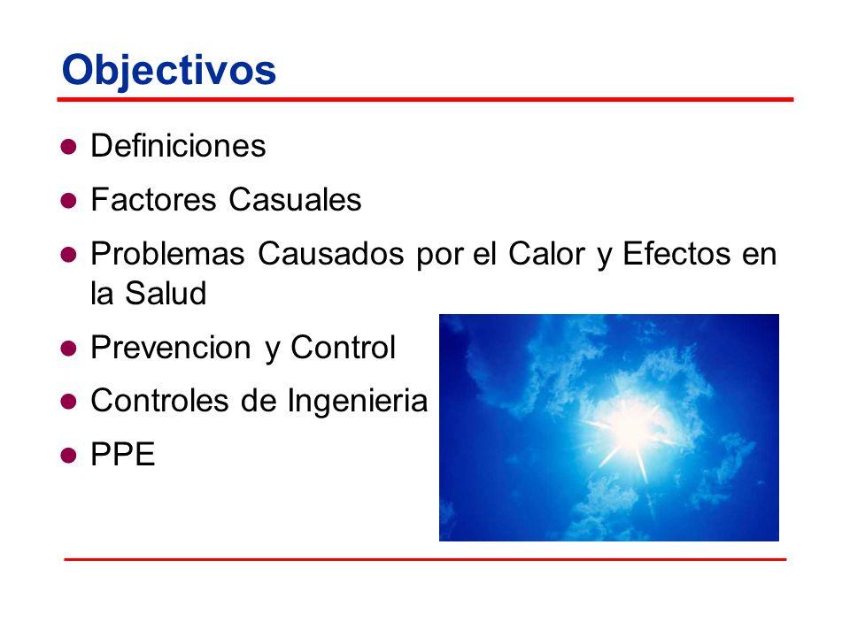 Objectivos Definiciones Factores Casuales
