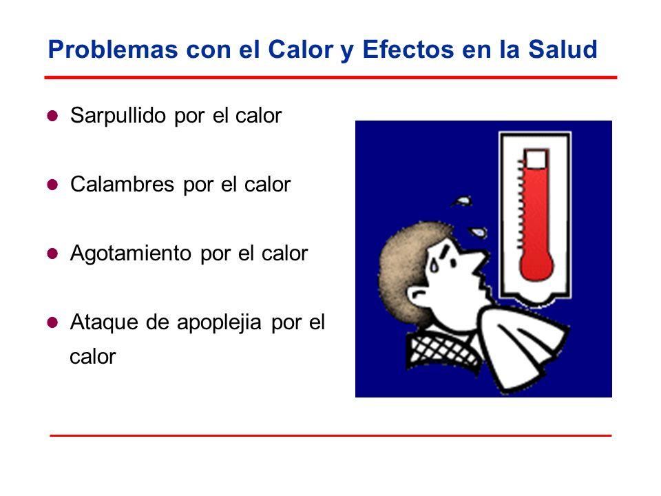 Problemas con el Calor y Efectos en la Salud