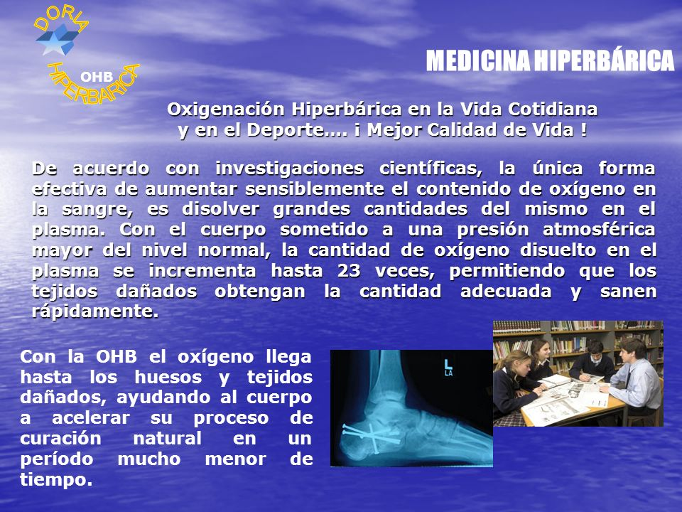 MEDICINA HIPERBÁRICA HIPERBARICA