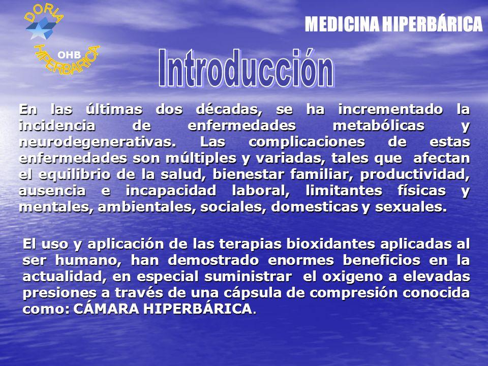 MEDICINA HIPERBÁRICA Introducción