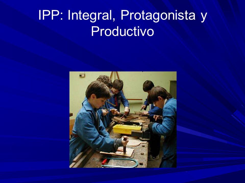 IPP: Integral, Protagonista y Productivo