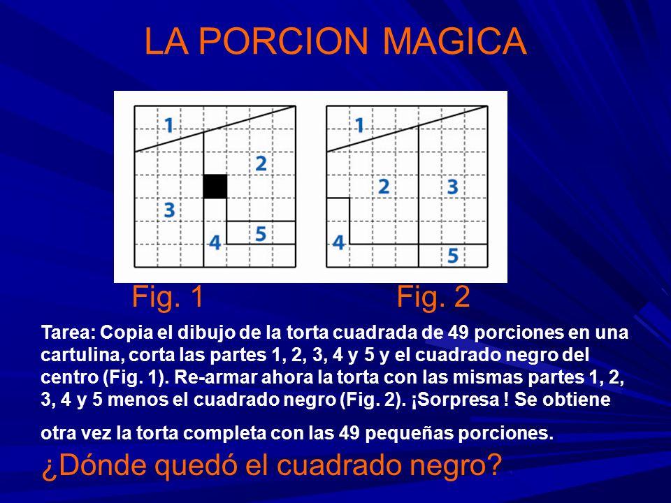 LA PORCION MAGICA Fig. 1 Fig. 2