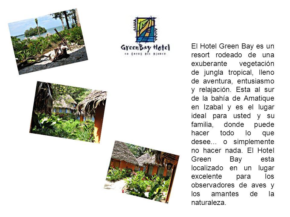 El Hotel Green Bay es un resort rodeado de una exuberante vegetación de jungla tropical, lleno de aventura, entusiasmo y relajación.