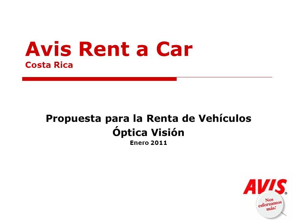 Avis Rent a Car Costa Rica