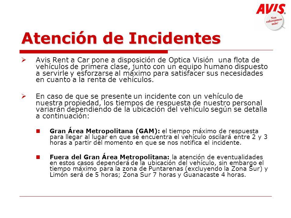 Atención de Incidentes