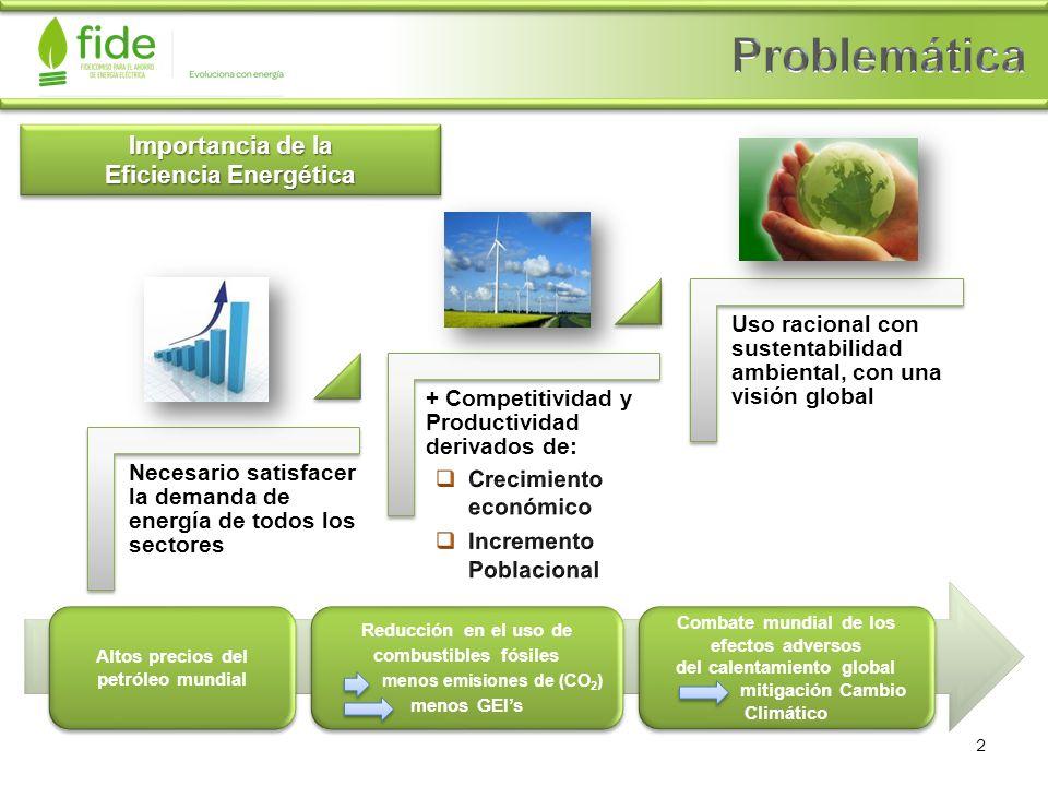 Problemática Importancia de la Eficiencia Energética