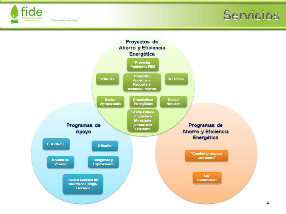 Proyectos de Ahorro y Eficiencia Energética