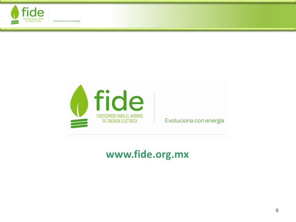 www.fide.org.mx 9