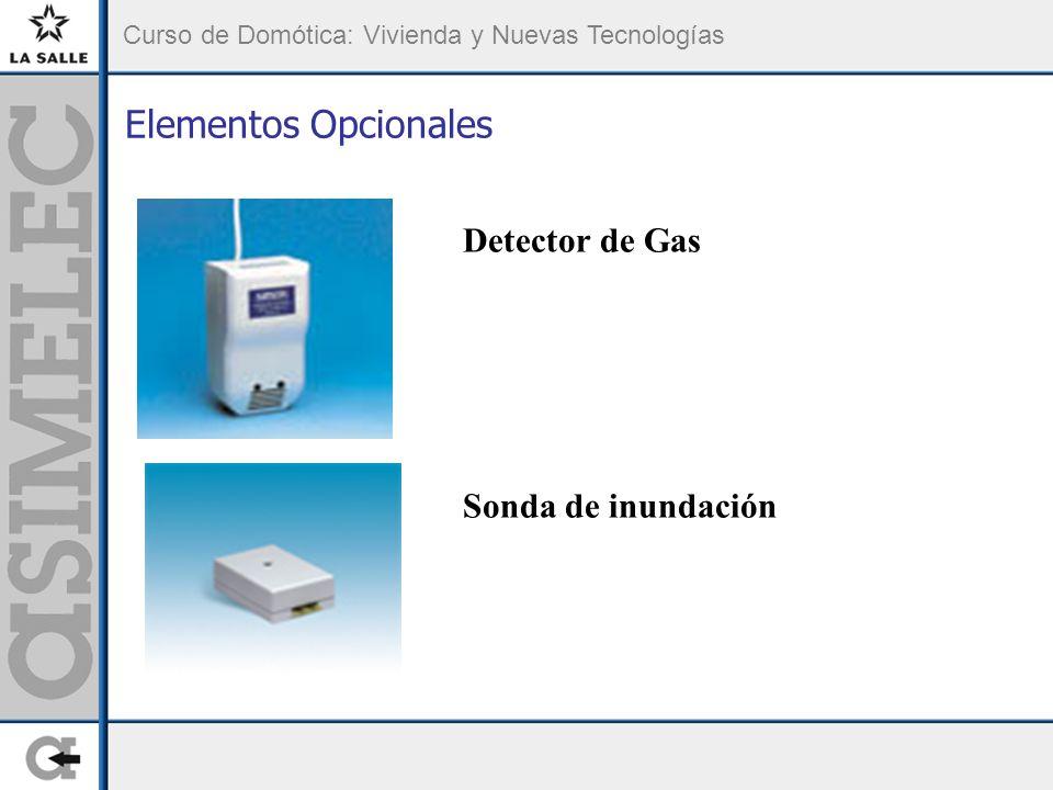 Elementos Opcionales Detector de Gas Sonda de inundación