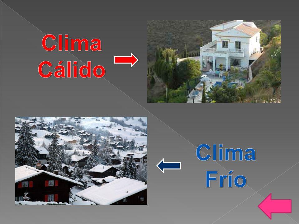 Clima Cálido Clima Frío