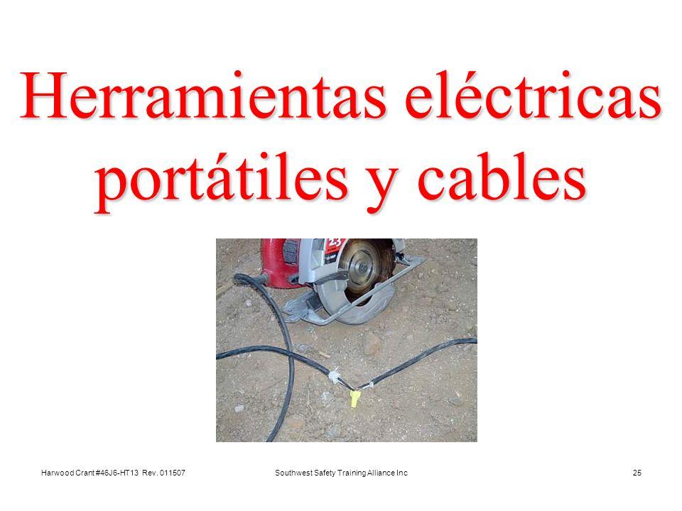 Herramientas eléctricas portátiles y cables