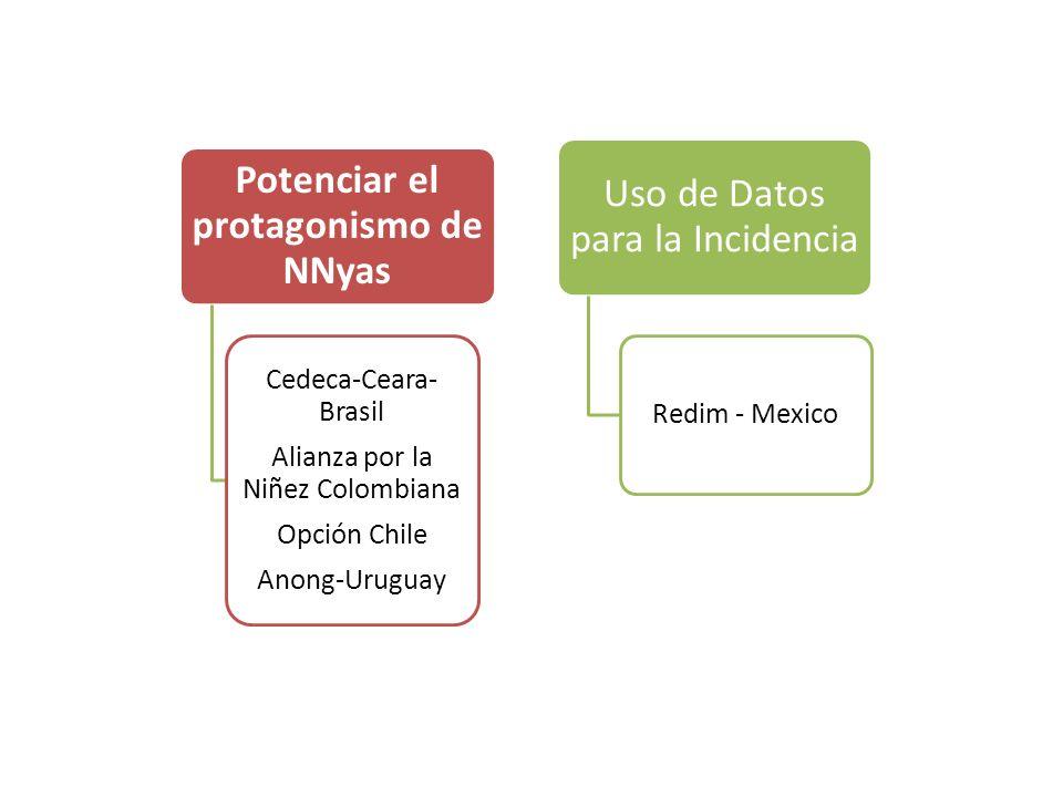 Potenciar el protagonismo de NNyas