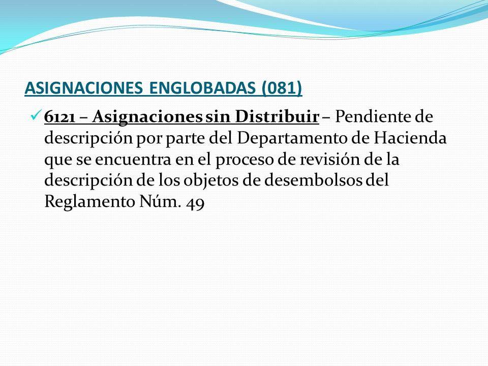 ASIGNACIONES ENGLOBADAS (081)