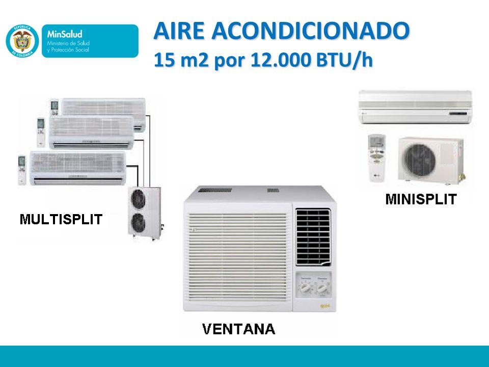 AIRE ACONDICIONADO 15 m2 por 12.000 BTU/h
