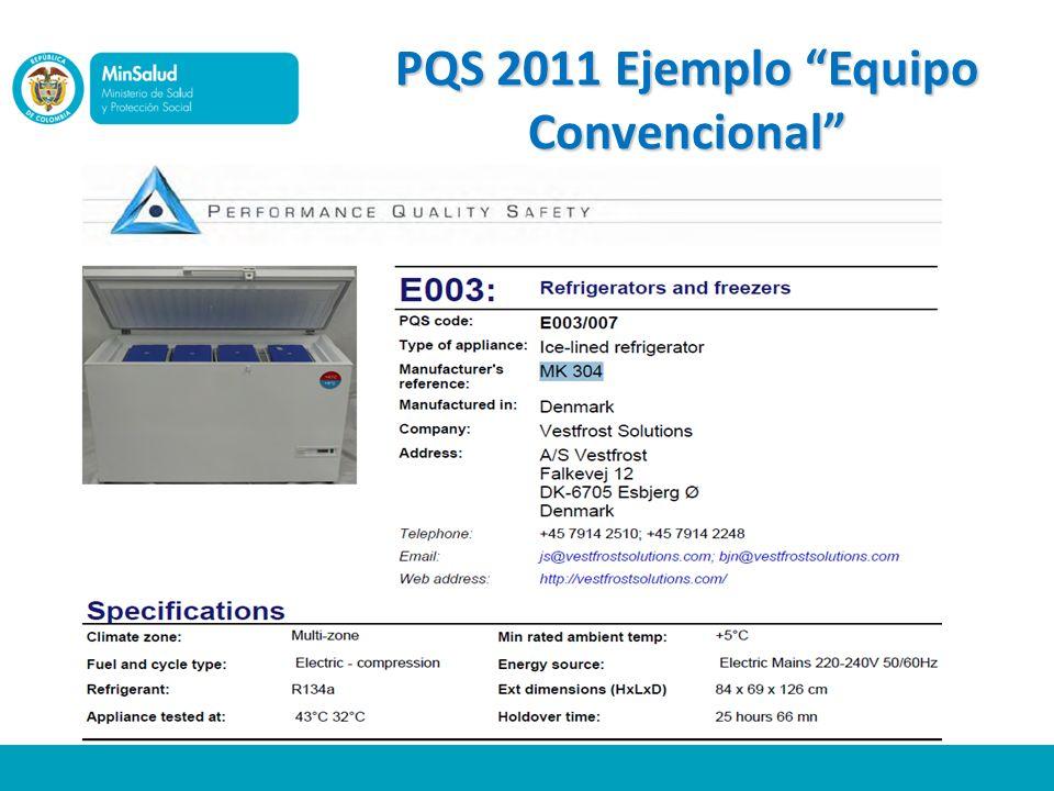 PQS 2011 Ejemplo Equipo Convencional