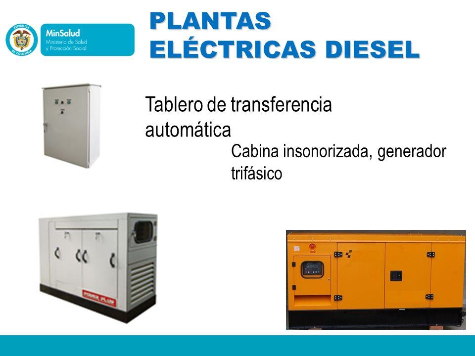 PLANTAS ELÉCTRICAS DIESEL