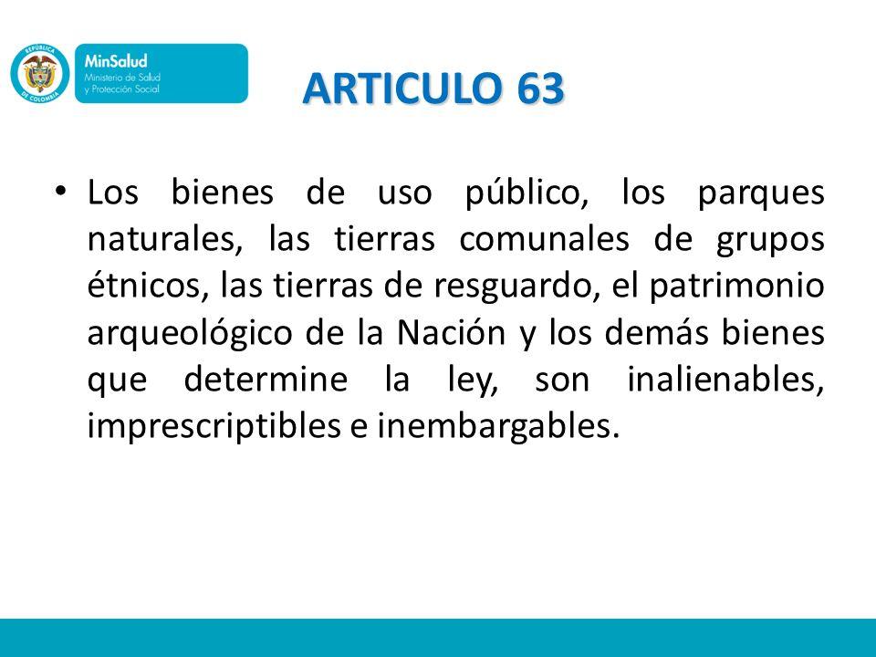 ARTICULO 63