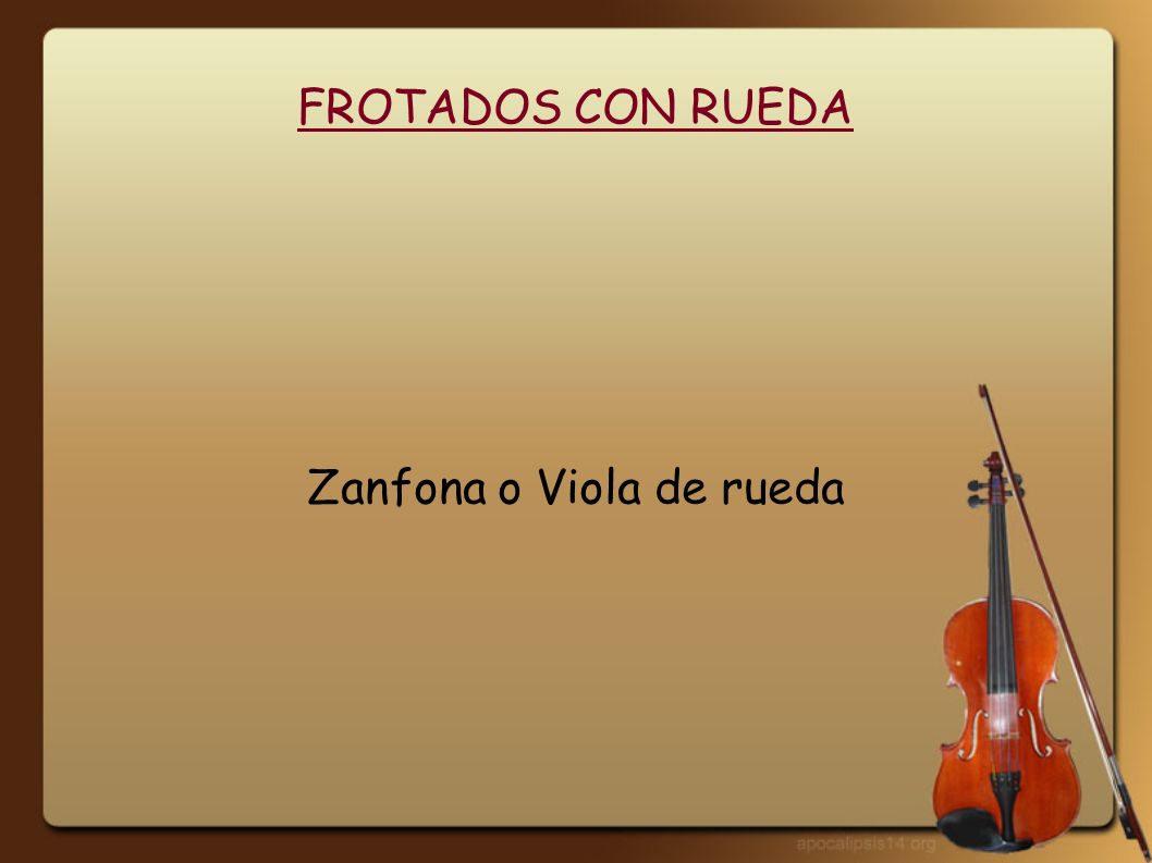 Zanfona o Viola de rueda