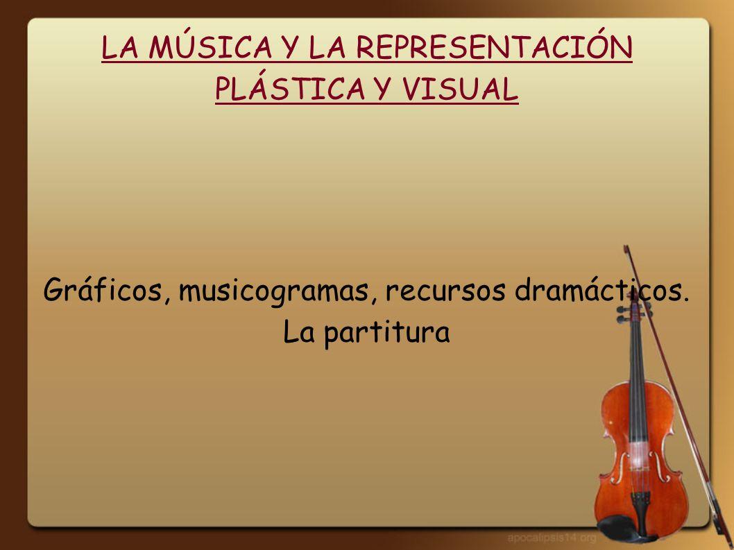 LA MÚSICA Y LA REPRESENTACIÓN PLÁSTICA Y VISUAL