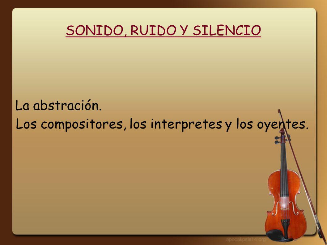 SONIDO, RUIDO Y SILENCIO