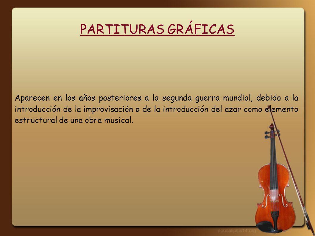 PARTITURAS GRÁFICAS