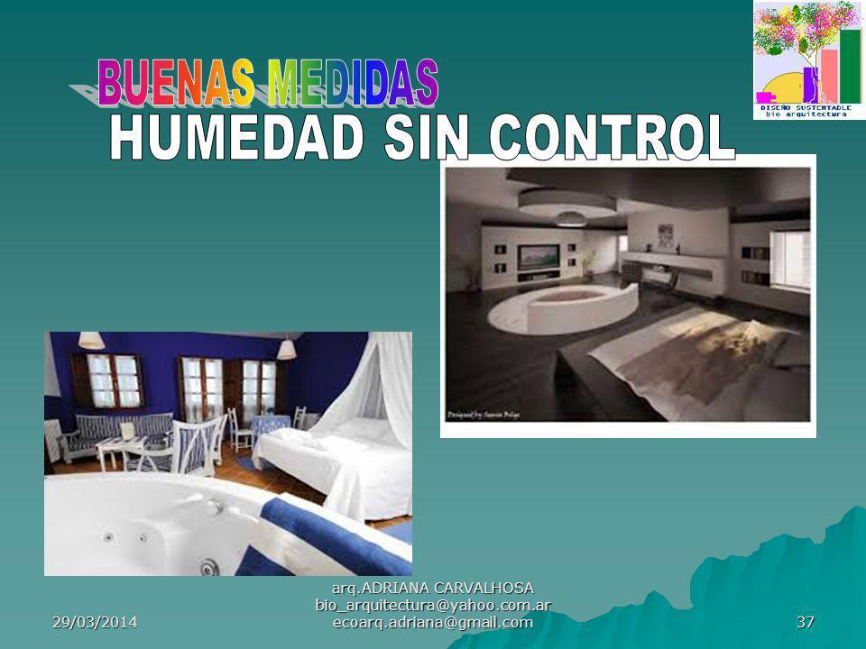 BUENAS MEDIDAS HUMEDAD SIN CONTROL