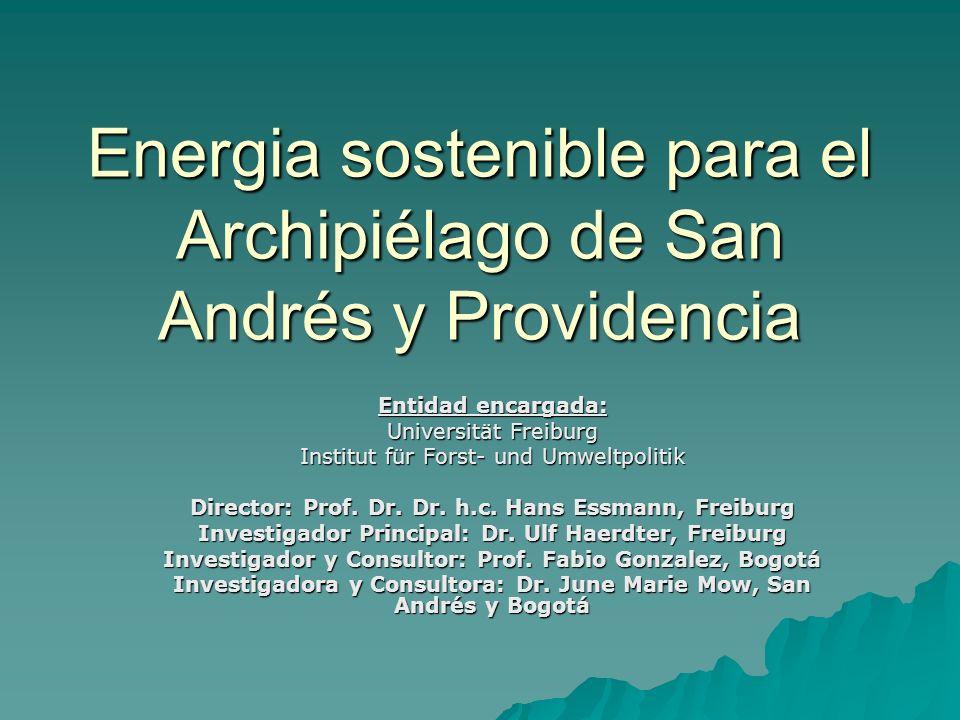Energia sostenible para el Archipiélago de San Andrés y Providencia
