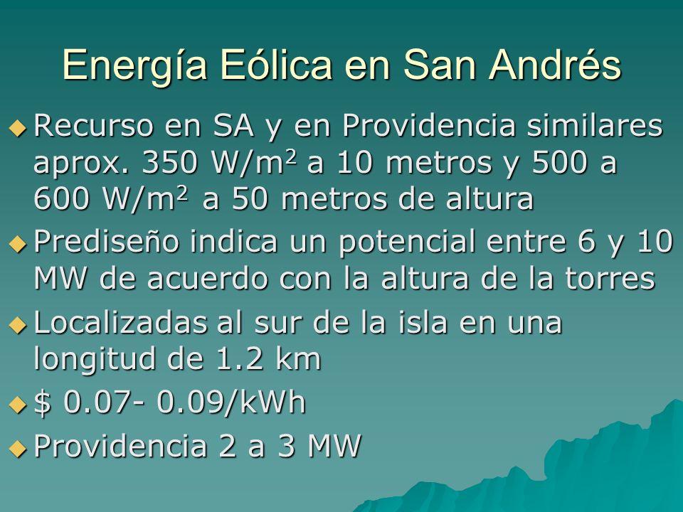Energía Eólica en San Andrés