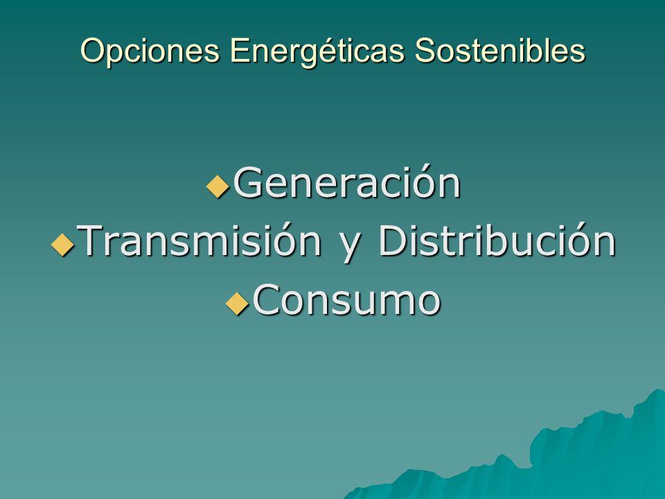 Opciones Energéticas Sostenibles