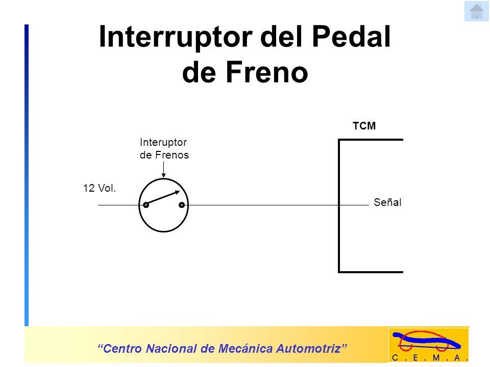 Interruptor del Pedal de Freno