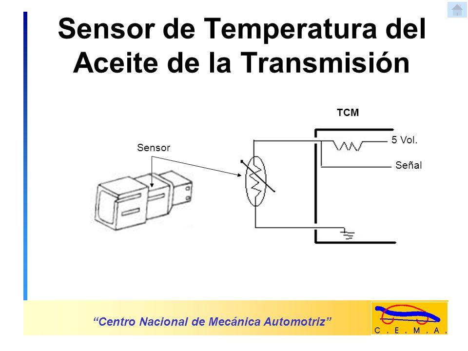 Sensor de Temperatura del Aceite de la Transmisión