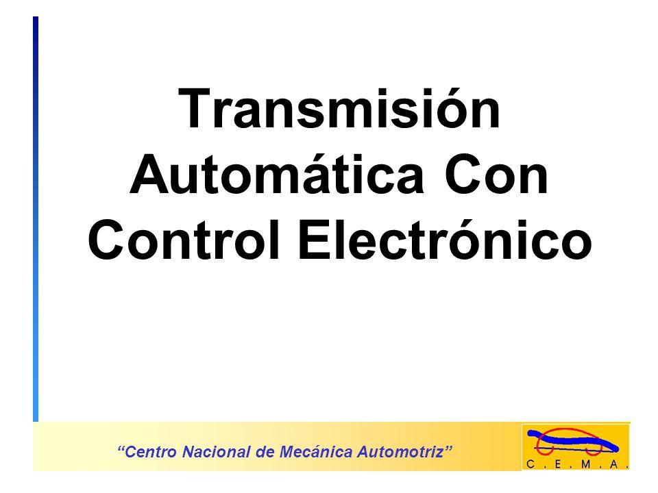 Transmisión Automática Con Control Electrónico