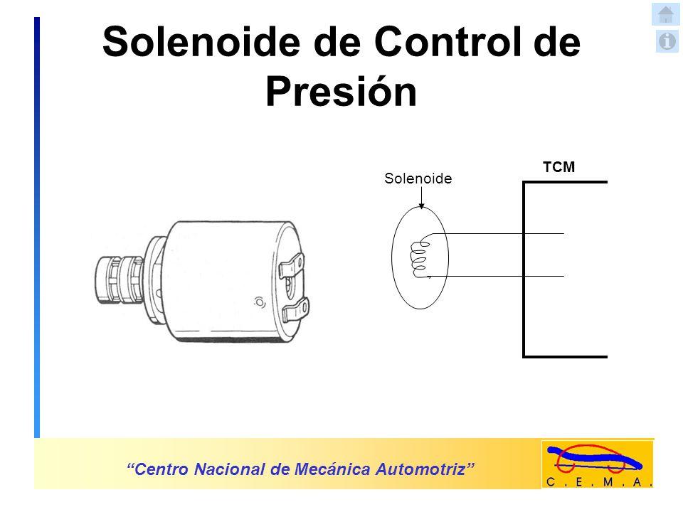 Solenoide de Control de Presión