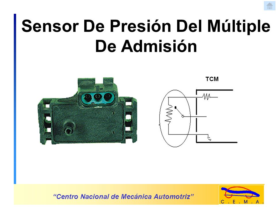 Sensor De Presión Del Múltiple De Admisión