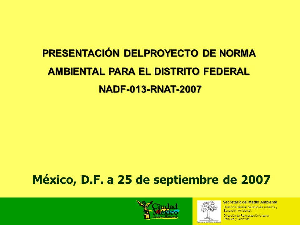 México, D.F. a 25 de septiembre de 2007