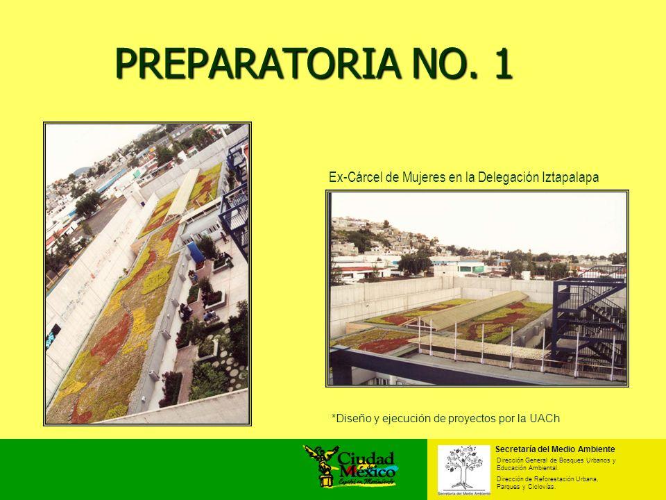 PREPARATORIA NO. 1 Ex-Cárcel de Mujeres en la Delegación Iztapalapa
